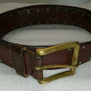 Coach Leatherware 1941 Women's Brown Leather Belt